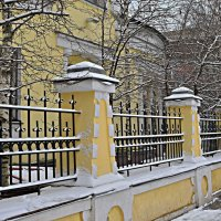 Снег порадовал перед Рождеством! :: Татьяна Помогалова