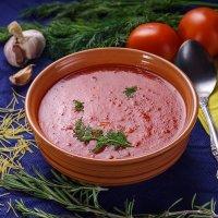 суп-пюре из томатов :: Лев Сергеев