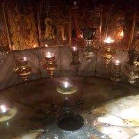 алтарь Рождества в Пещере Рождества. Вифлеем :: elena manas