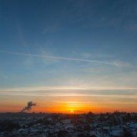 Посёлок Кирзавод на закате в Томске :: Lammer Zloy
