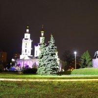 Г. Орёл. Богоявленский собор в Рождественскую ночь. :: Борис Митрохин