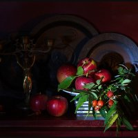 Натюрморт - «Осенний  урожай» :: Юрий ГУКОВЪ