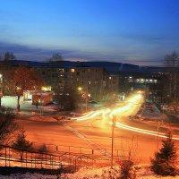Город в ночи.. :: Александр Шимохин