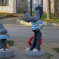 Волк и заяц моряки :: Александр Рыжов