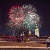 Петропавловская крепость. Рождество :: Юрий Бутусов