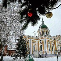 «Зарайский кремль» в Рождество. :: Михаил Столяров