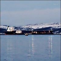 Новогодние огни Кольского залива :: Кай-8 (Ярослав) Забелин