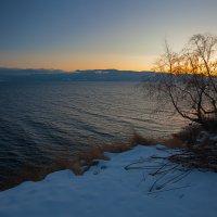Закат над Байкалом :: Анатолий Иргл