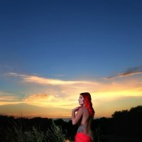 На закате... :: Денис Банцерж