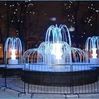 Зимний фонтан в Салтыковском сквере :: Вера