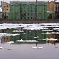 На Неве 12 января. :: Марина Харченкова