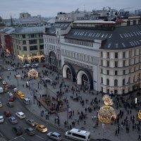 Москва новогодняя. 2018 год. :: Eule!