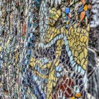 Мозаика на стене дома! :: Натали Пам