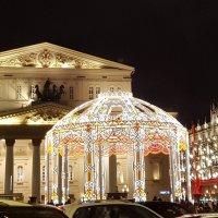 Новогодняя иллюминация 2018 в Москве. :: Елена
