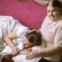 бабушка и внучка :: ИрЭн Орлова