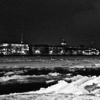 Январская ночь на Неве :: Елена