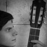 """Ретро """"Гитарист"""" :: Андрей Резюкин"""