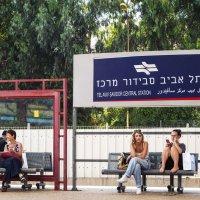 """Тель Авив:  """"В ожидании поезда ..."""" :: Aleks Ben Israel"""
