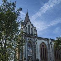 приходская церковь по улице Гертруды г Эссен :: Дмитрий Потапкин