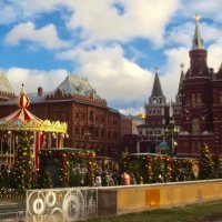 новогодние ярмарки в Москве :: Елена