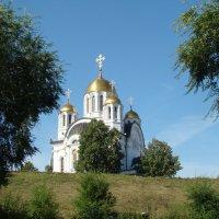 Храм  в честь св.Георгия Победоносца :: марина ковшова