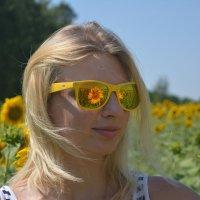 Солнечная девушка. :: Натали