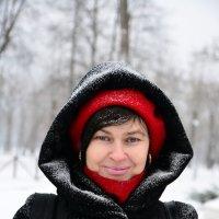 Женский образ зимой :: Егор Арнаутов