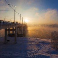Закат над Иркутском :: Анатолий Иргл