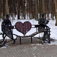в городском парке :: tatiana