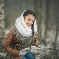 Зимой в лесу :: Roman Sergeev