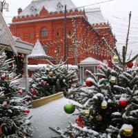 Новогодняя Москва :: Валерий Князькин