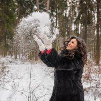 Брызги снега :: Максим Кравченко