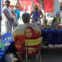 Мона Лиза: реинкарнация по-русски :: Юрий Налобин