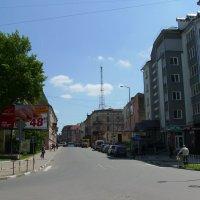 Улица   Филиппа    Орлика   в    Ивано - Франковске :: Андрей  Васильевич Коляскин