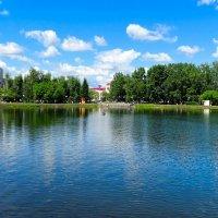 """Белое озеро"" :: Милешкин Владимир Алексеевич"