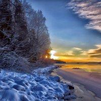 Сказочный рассвет.... :: Ольга Cоломатина