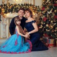 Семейная Новогодняя открытка :: Георгий Бондаренко