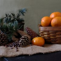 О орехах и мандаринах :: Наталья Джикидзе (Берёзина)