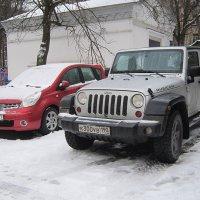 Две разные машины :: Дмитрий Никитин