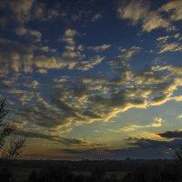 небо на закате :: Марина Ринкашикитока