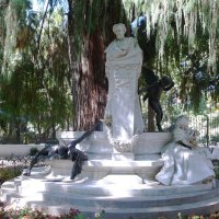 Севилья.Парк Марии Луизы.Монумент Becouer :: Таэлюр