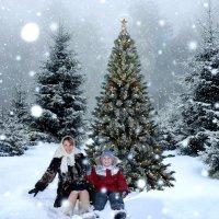 Рождественская прогулка :: Ирина Хусточкина