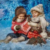 Рождественская открытка :: Ирина Жулина