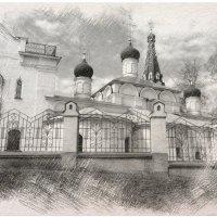 Храм в Котово. (Водники). :: Иван Владимирович Карташов