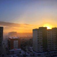 Морозное утро -40. :: Алла ZALLA