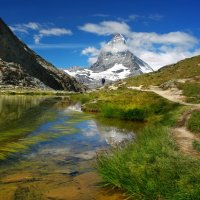 Там, в облаках, огромная гора... :: Elena Wymann