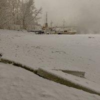 Пристань замёрзших кораблей... :: Сергей Герасимов