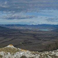 Панорама Байдарской долины :: Игорь Кузьмин