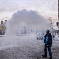 Кипяток на морозе в минус сорок. :: Юрий Фёдоров