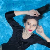 съемка в бассейне :: Мадина Скоморохова